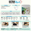 Picture of ULTRAMask (Official Store) K2 3-Ply Anti-Bacterial Kids Face Mask (Age 6 to 8) - (Wholesale/bulk purchase - MOQ 500 pieces) - White