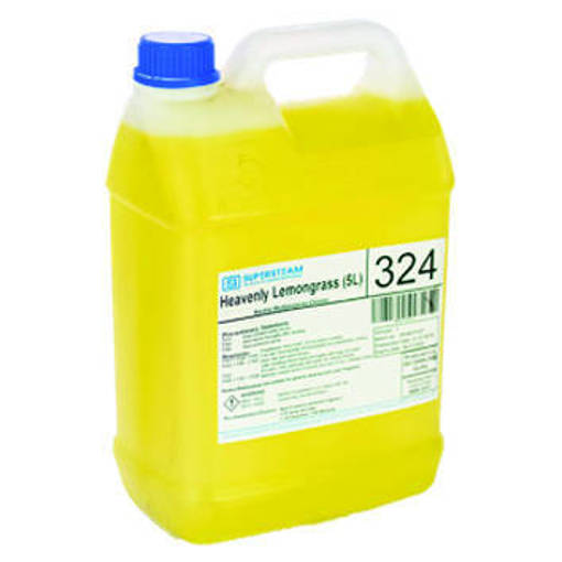 Picture of SuperSteam Heavenly Lemongrass (carton of 5 bottles of 5L)