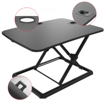Picture of ERGOWORKS - Ultra-slim Sit Stand Desk Converter For Laptop